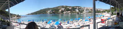 One of many beautiful Dubrovnik Beaches