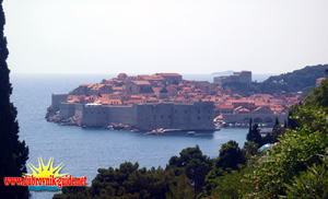 View of the Old Town - Dubrovnik Croatia