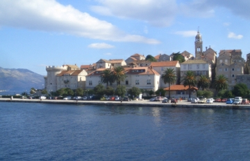 Town of Korcula (Croatia) is known also as small Dubrovnik