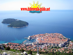 Panorama view of Dubrovnik - View from Srdj hill