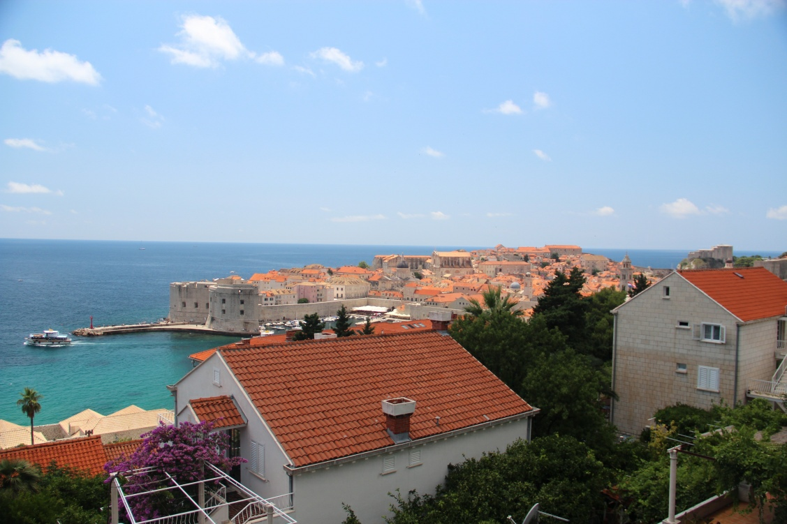 View of Dubrovnik from the northern side