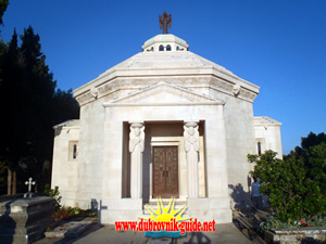 Racic Family Mausoleum - a work by Mestrovic on Cavtat cemetary