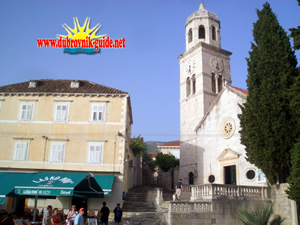 St Nicholas church in Cavtat